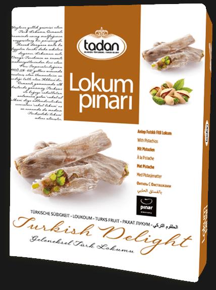 Antep Fıstıklı Fitil Lokum 350 g