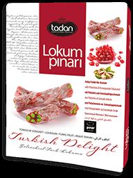 Narlı & Antep Fıstıklı Fitil Lokum